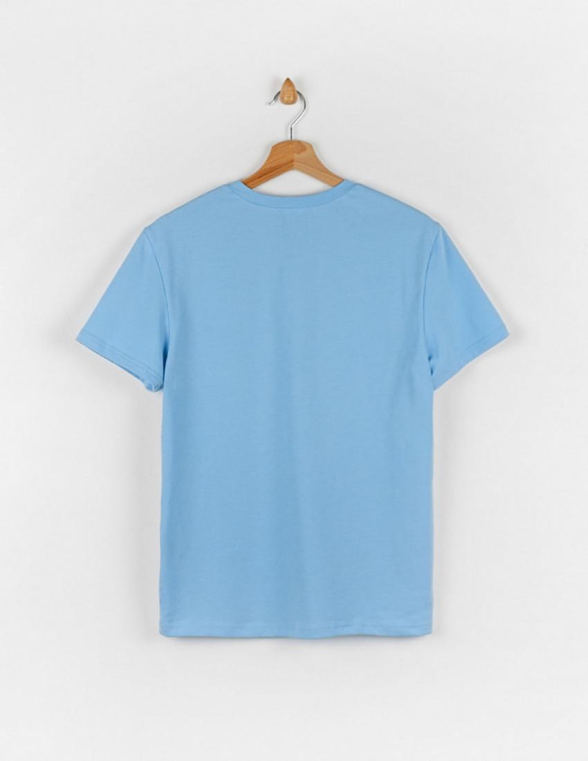 Футболка Овер для взрослого голубая СОЗДАЮ ПРАВИЛА