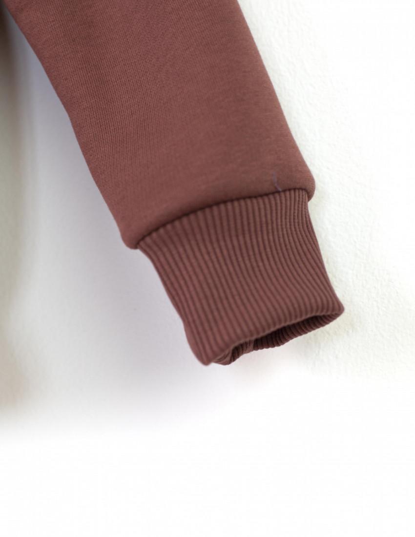 Толстовка Gloster коричневаяс начесом  Папин характер