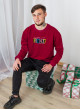 Джемпер Франт мужской бордовый FUNDAY