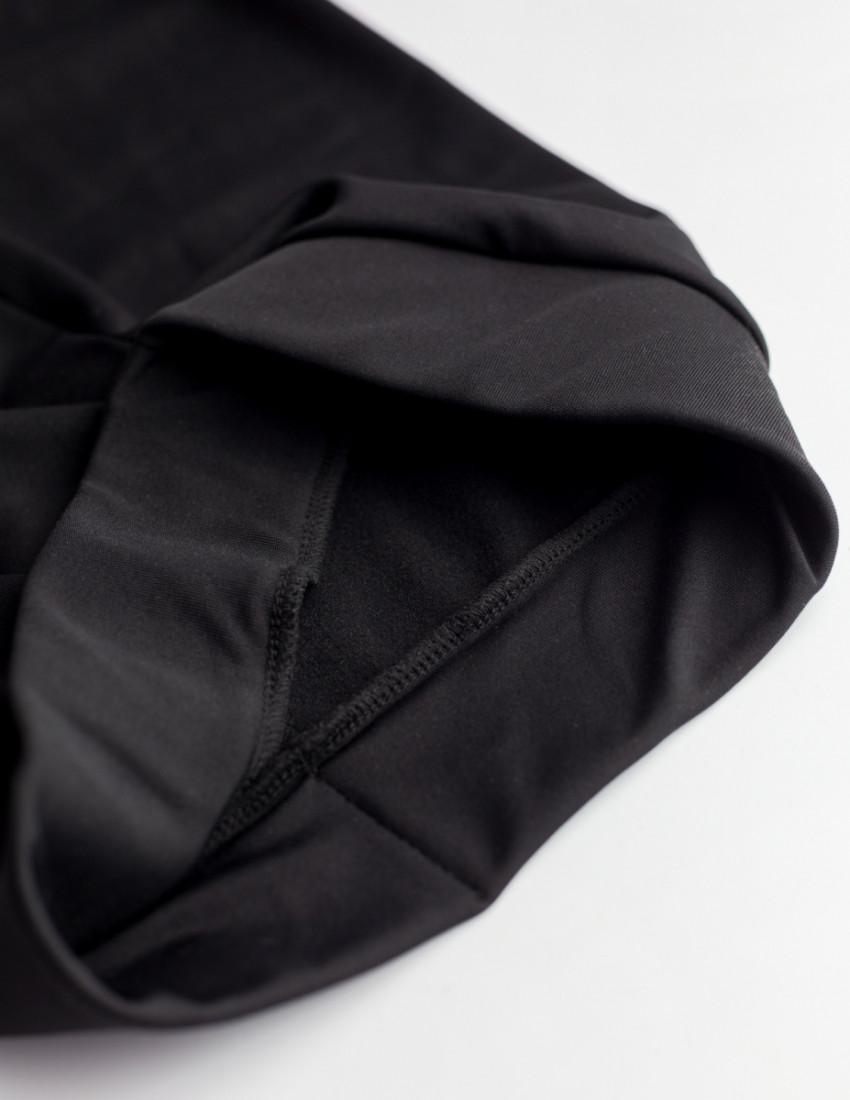 Лосины Старк с начёсом чёрные