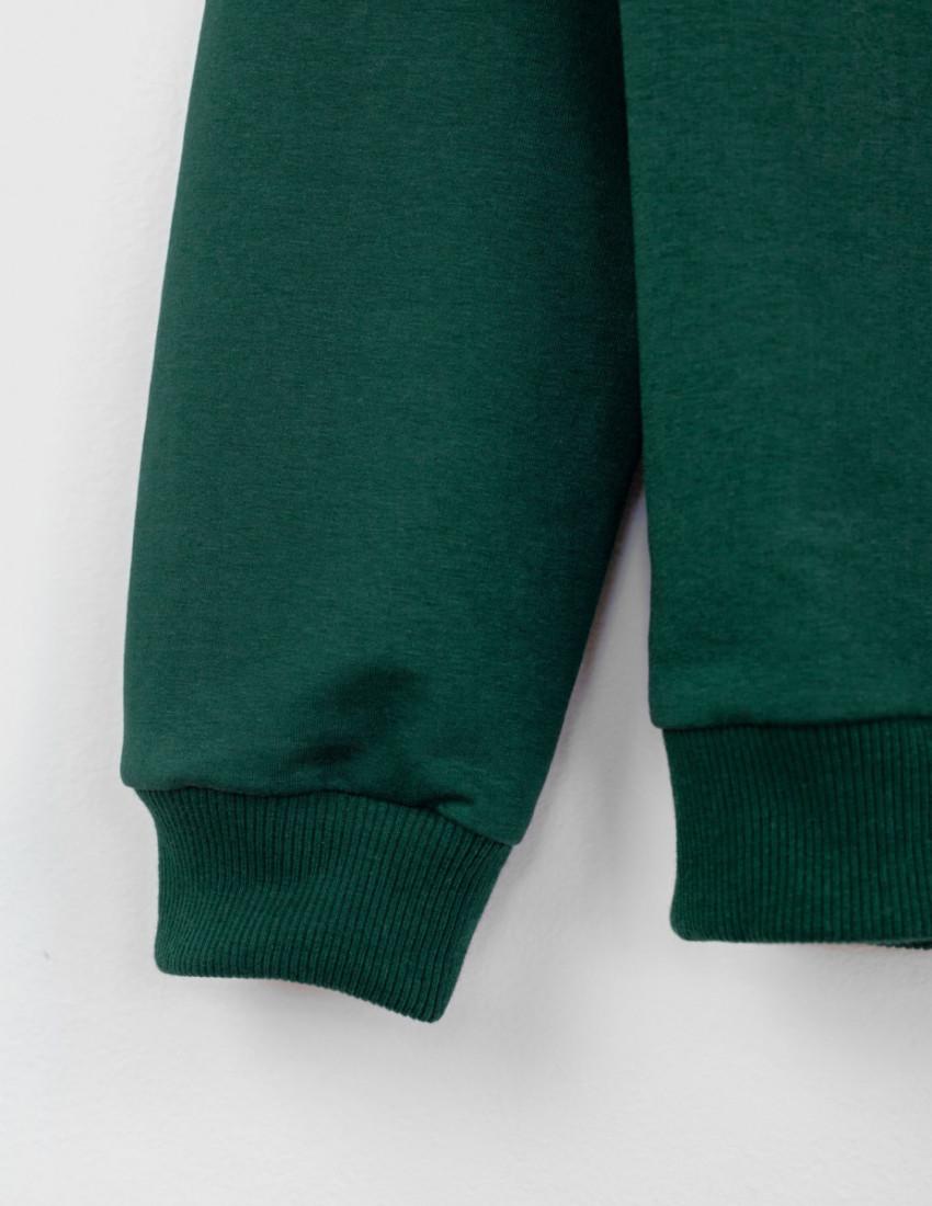 Джемпер Франт мужской тёмно-зелёный DRAGON MAN