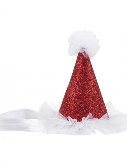 Аксессуар Mini Santa красный