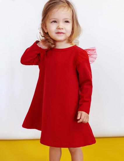 Платье Голдия красное